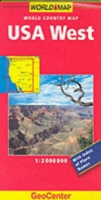 USA West (GeoCenter World Country Maps) Sheet map, folded Book The Cheap Fast