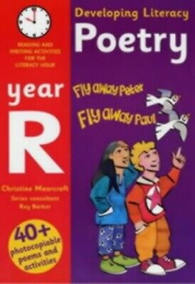 Developing Literacy: Poetry: Year R: Reading ..., Moorcroft, Christine Paperback