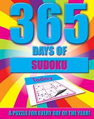 Puzzles - 365 Days of Sudokus - A Puzzle a Day by Igloo Books Ltd Book The Cheap