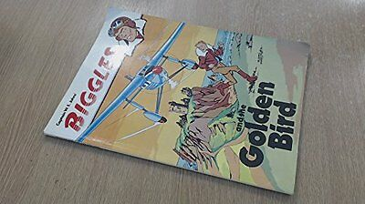 Captain W E Johns' - Biggles and the Golden Bird, Peter James Hardback Book The