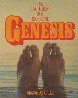Genesis: The Evolution of a Rock Band, Gallo, Armando Paperback Book The Cheap