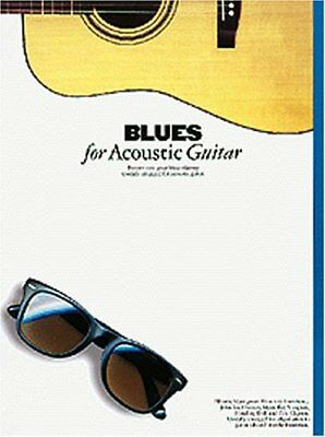 Blues for Acoustic Guitar Tab Book The Cheap Fast Free Post