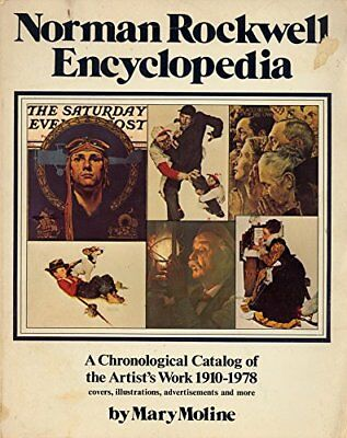 Norman Rockwell Encyclopaedia Hardback Book The Cheap Fast Free Post