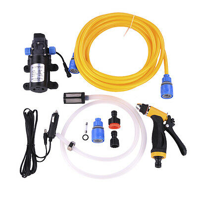 New Portable 80W High Pressure Car Electric Washer Wash Pump 12V