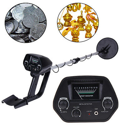 Waterproof Metal Detector Deep Sensitive Gold Coin Hunter Finder Searcher Digger