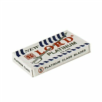Lord Platinum Super Stainless | Double Edge Razor Blades |  Premium Safety DE