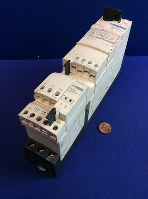 TELEMECANIQUE TeSys LUCB1XBL COMBO MOTOR CONTROL 0.35-1.40A, LUB12, LU2MB0BL