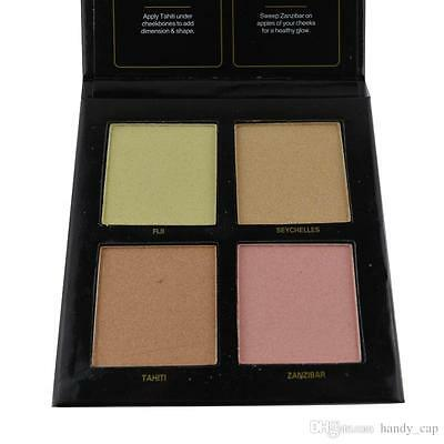 UK NEW BEAUTY 3D HIGHLIGHTER PALETTE & Color Eye Shadow Make Up