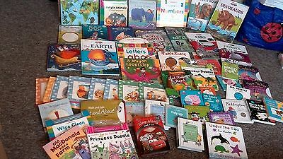 COLLECTION ONLY 52 x mixed lot of childrens kids books