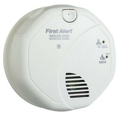 First Alert SC05CNA Battery Operated Combination Carbon Monoxide and Smok... New