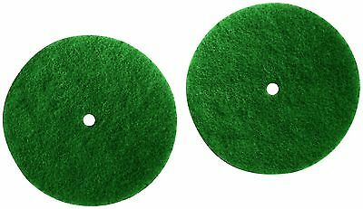 Koblenz Genuine Scrubbing Pads Pack of Two Six Inch Pads and Two Plastic ... New