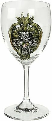 VERDUGO GIFT Dragon Glass Goblet Green New