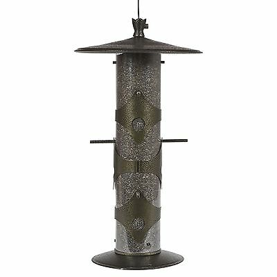 Perky-Pet 736 Birdscapes Upside Down GoldfInch Feeder New