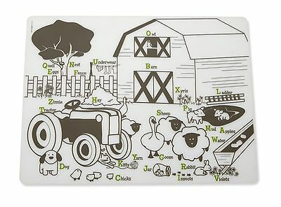 Modern Twist Placemat Farm Buddies New