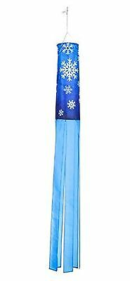 Trademark Innovations SNWFLK 60-Inch Snowflake Design Column Windsock-Blo... New