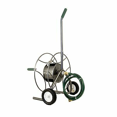 Lewis Lifetime Tools Yard Butler HTC-1 Compact Hose Reel Truck Gray New