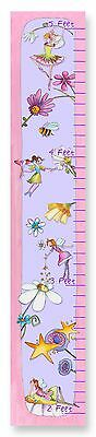 The Kids Room by Stupell Flower Fairy Princesses Growth Chart New