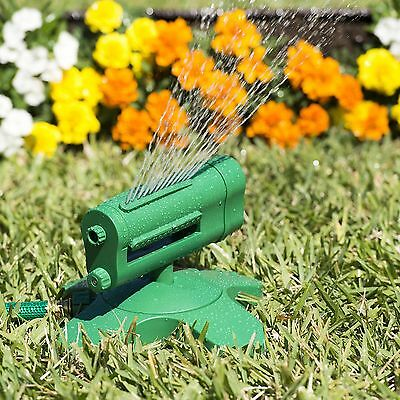 Rotating Sprinkler 360 - Water Entire Lawn And Garden Without Oscillating... New