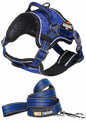 Dog Helios Chest Compression Adjustable Reflective Buckled Sporty 2-in-1 ... New