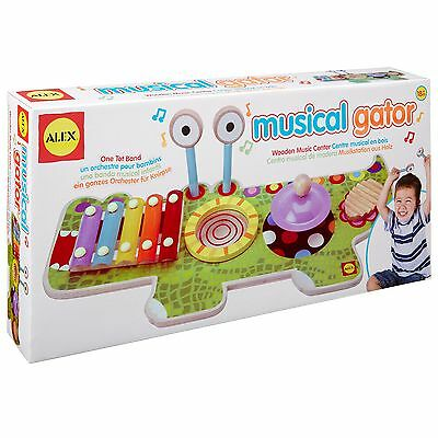 Alex Toys Pretend and Play Musical Gator New