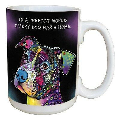 Tree-Free Greetings 46202 Dean Russo Perfect World Ceramic Mug with Full-... New