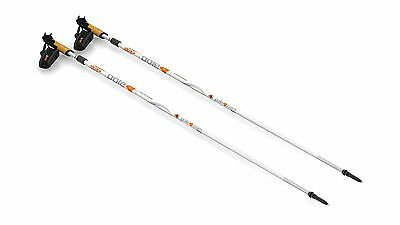 one4ALL adjustable pole 30% Carbon white 115 - 160 cm New