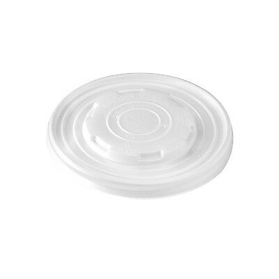 PacknWood PLA Plastic Lid for 8 oz. Paper Soup Cups (Case of 1000) New