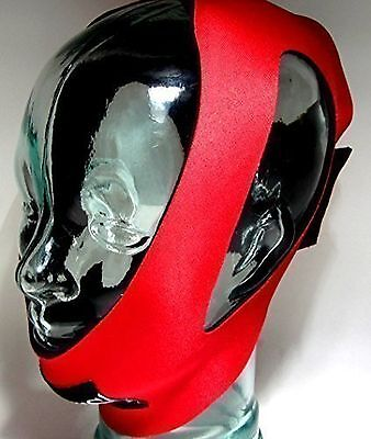 ANTI-SNORE Stop Snoring (RED SHIHAN) Anti Snore Adjustable Jaw Chin Strap... New