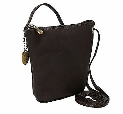 David King & Co. Top Zip Mini Bag 518 Caf One Size Café New