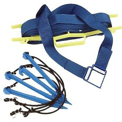 Tandem Sport 2-Inch Volleyball Court Lines Blue New