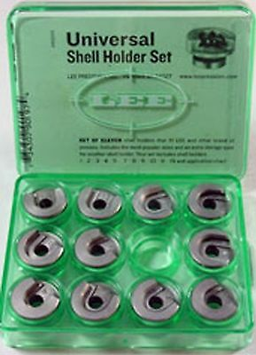 Lee Precision Universal Press Shell Holder Set (Clear) New