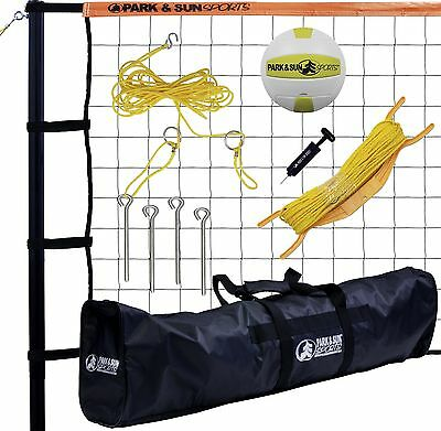 Park & Sun Sports Tournament 179: Portable Outdoor Volleyball Net System ... New