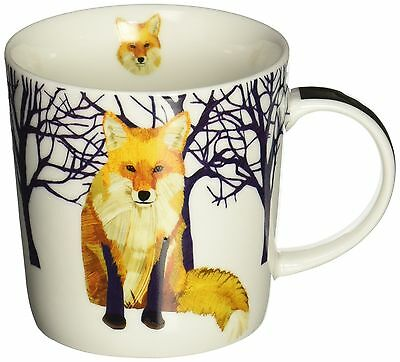 Paperproducts Design Winter Solstice Fox Porcelain Gift Boxed Mug 13.5-Ou... New