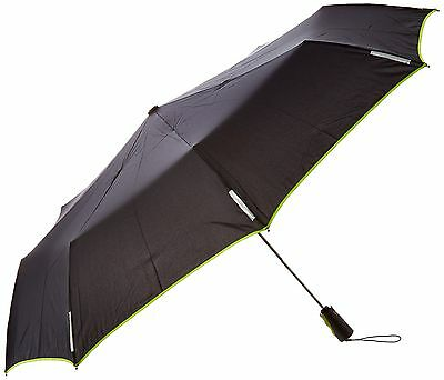 Totes Trx Auto Open and Close Titan XL Umbrella Black/Apple Green Trim On... New