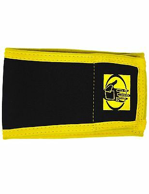 Body Glove Pet Male Dog Belly Band Large Black/Yellow Edge New