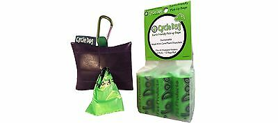 Cycle Dog Park Pouch Recycled Pickup Bag Holder with Earth Friendly Pick ... New