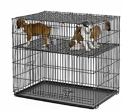 "MidWest Puppy Playpen with 1 Inch Mesh Floor Grid 24""L (model 224-10) Small New"