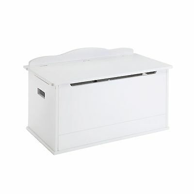 Guidecraft Expressions Toy Box in White New