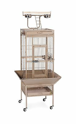 Prevue Hendryx Pet Products Wrought Iron Select Bird Cage Coco Brown New