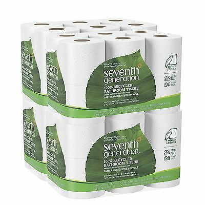 Bathroom Tissue 2 ply 12 pack 300 sheets/roll (Pack of 4) 48 Count New