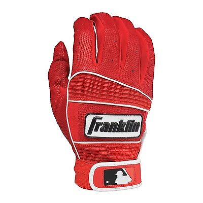 Franklin Sports MLB Adult Neo Classic II Series Batting Gloves Red Large New