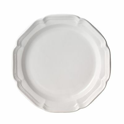 """Mikasa French Country Dinner Plate 10.75"""" White New"""