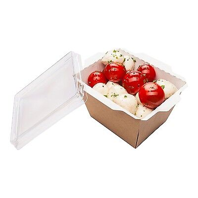 Restaurantware Small Cafe Vision Click Lock Take Out Container (Lid Not I... New