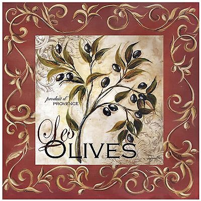 Thirstystone Occasions Trivet Olive Scroll Multicolor New