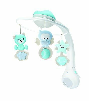 BKids Watch Over Me 3-in-1 Musical Projector Baby Mobile New