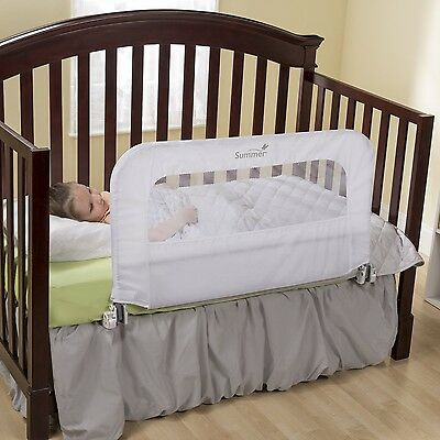 Summer Infant 12544 2-In-1 Convertible Crib Rail to Bedrail New