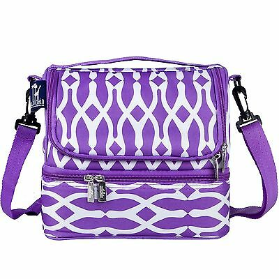 Wildkin Wishbone Double Decker Lunch Bag New