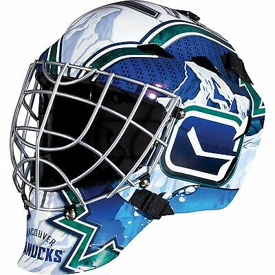 FRANKLIN Sports GFM 1500 NHL Vancouver Canucks Goalie Face Mask New