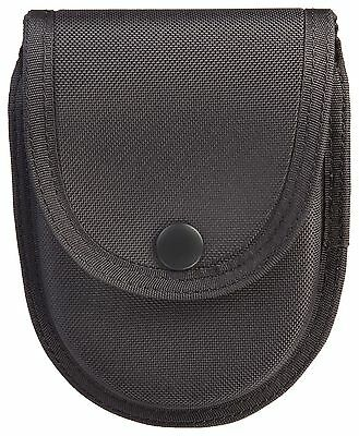 Uncle Mike's Sentinel Molded Nylon Double Handcuff Case Black New