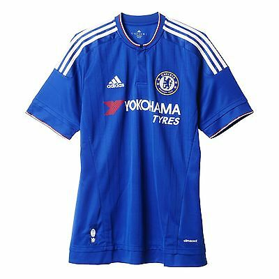 adidas AH5104 Chelsea FC Home Replica Player Jersey (Chelsea Blue/White/P... New